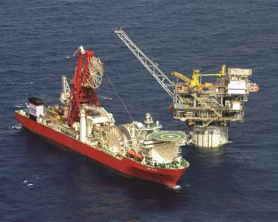 Technip flagship, pipelay and construction vessel Deep Blue, will receive communications and content services from MTN.