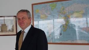 Eivind Grostad, DNV's Senior Vice President & Regional Manager for DNV Maritime