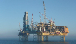 Elgin Field Platform: Photo credit: Total