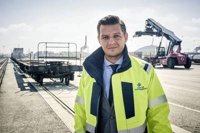 Elvir Dzanic, Gothenburg Port Authority chief executive. Photo: Port of Gothenburg