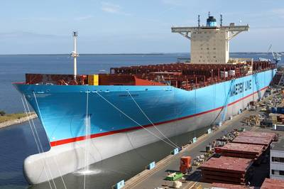 'Emma Maersk': Photo credit Maersk Line