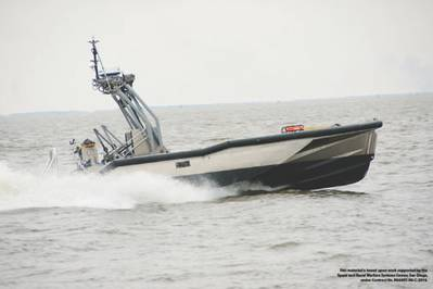 General Dynamics Robotic Systems delivered the first Fleet class Anti-Submarine Warfare Unmanned Surface Vehicle (ASW USV) to the U.S. Navy on May 2 as part of the Littoral Combat Ship (LCS) mission package.