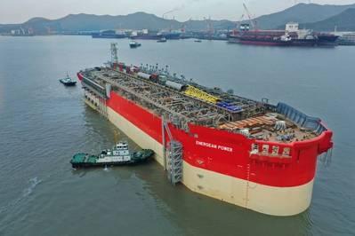 Energean Power FPSO Hull - Credit: Energean