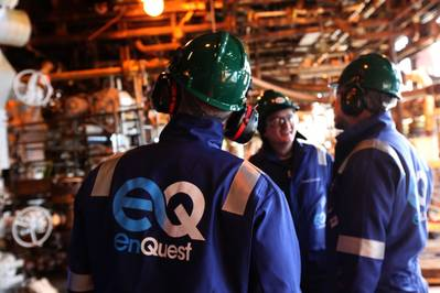 EnQuest Offshore Workers: Photo credit EnQuest