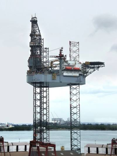 ENSCO 123 (Photo: Keppel FELS)