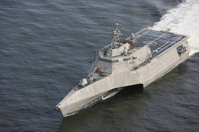 Independence-class Littoral Combat Ship the future USS Savannah (LCS 28) constructed by Austal USA has completed acceptance trials (Images: Austal USA)