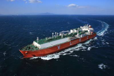 Ethane Crystal is the world's first very large ethane carrier (VLEC) (Photo: SHI)
