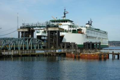 Existing Mukilteo Ferry Terminal (Photo courtesy of Washington State Dept of Transportation)