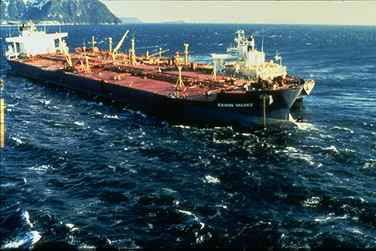 'Exxon Valdez' Photo credit NOAA