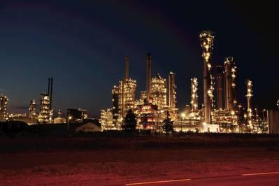 EXXON's Rotterdam Refinery (CREDIT: EXXON)