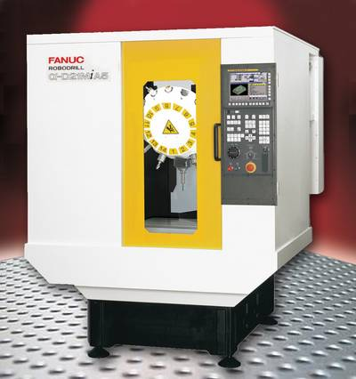 FANUC D21 Drilling Machine: Image credit Methods Machine Tools