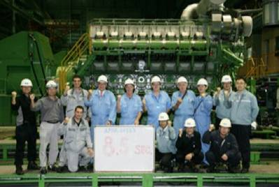Fast black-out system technicians: Image courtesy of Maersk Drilling