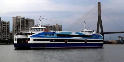 Fast ferry for Rio Olympics: Photo courtesy of Cat Marine