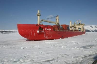 Fednav's MV Umiak I: credit Fednav Ltd