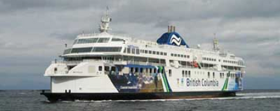Ferry 'Coastal Inspiration': Photo credit BCFS