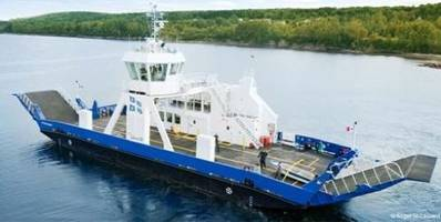 Ferry 'Peter Fraser': Photo courtesy of Navtech