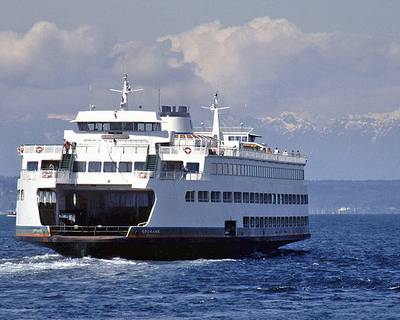 Ferry Spokane: Photo courtesy of WSF