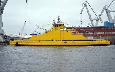 Ferry 'Stella': Photo credit STX Finland
