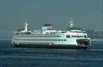 Ferry 'Tacoma': Photo credit WSF