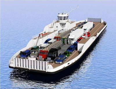 Ferry Waterbridge Steel