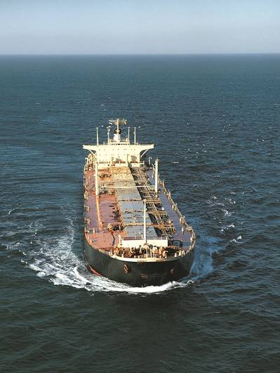File image: A tanker at sea (credit: BMT)
