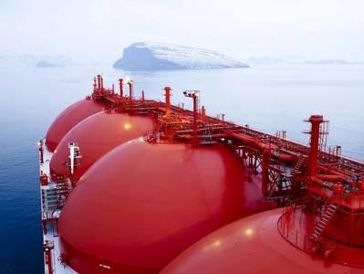 File Image: an LNG tanker underway (Credit: GAC)