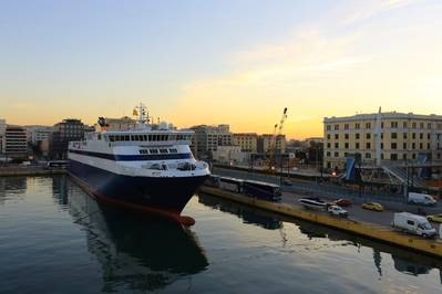 File Image: Ferries in passenger port in Piraeus, Athens, Greece. CREDIT: AdobeStock / (c) AnastasiiaUsoltceva