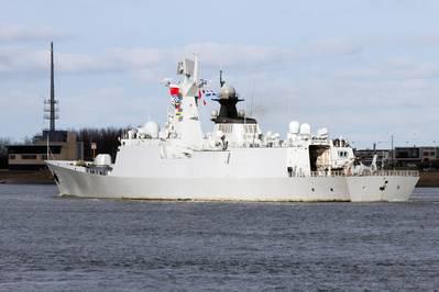 File image of a Chinese warship underway. AdobeStock / © Vanderwolf