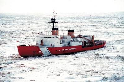 File Image: The U.S. Coast Guard's Polar Star icebreaker. (Credit: USCG)