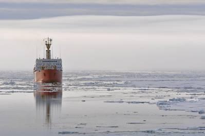 File photo: Canadian Coast Guard Ship Louis S. St-Laurent (U.S. Coast Guard photo by Patrick Kelley)