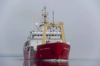 File photo: CCGS Edward Cornwallis (Photo: Ernesto Hernandez Fonte, U.S. Coast Guard)