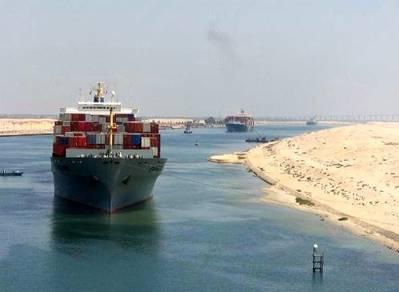 File photo courtesy of the Suez Canal Authority