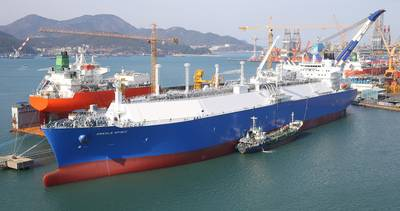 File photo: Daewoo Shipbuilding & Marine Engineering Co Ltd