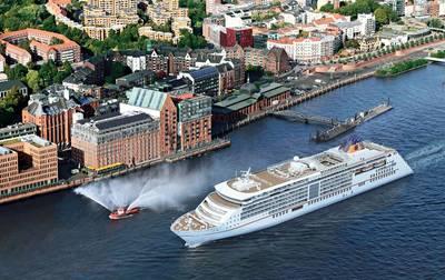 File photo: Europa 2 in Hamburg (Photo: Hapag-Lloyd Cruises)