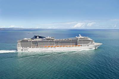File photo: MSC Divina (Courtesy MSC Cruises)