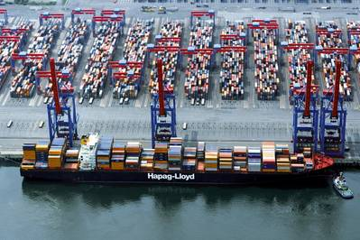 File photo of the Yantian Express (Photo: Hapag Lloyd)