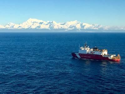File photo: Polar-class icebreaker Coast Guard Cutter Healy (WAGB-20) (U.S. Coast Guard photo by Kellen Browne)