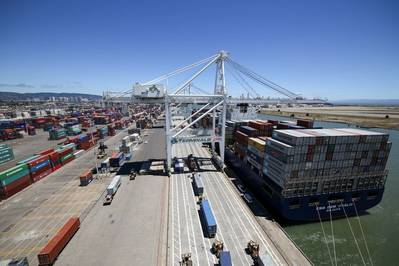 (File photo: Port of Oakland)