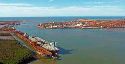 File photo: Port of Port Hedland