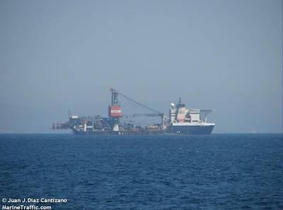 File Photo; Saipem FDS Vessel - Image by Juan J.Diaz Cantizano