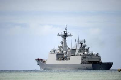 FILE PHOTO: The Republic of Korea destroyer Wang Geon (DDH 978) (Photo: Tiarra Fulgham / U.S. Navy)