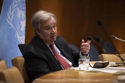 File photo: U.N. Secretary-General António Guterres (UN Photo/Evan Schneider)