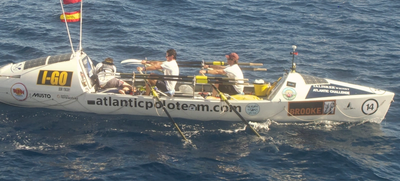 Final day of row: Photo credit USCG