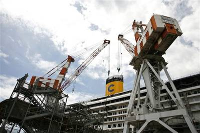 Fincantieri CNI Yard: Photo courtesy of the shipbuiliders