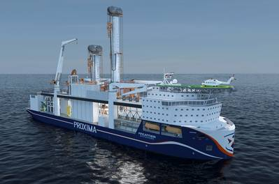 Fincantieri Offshore is using AVEVA Marine software in the concept design phase of Proxima.