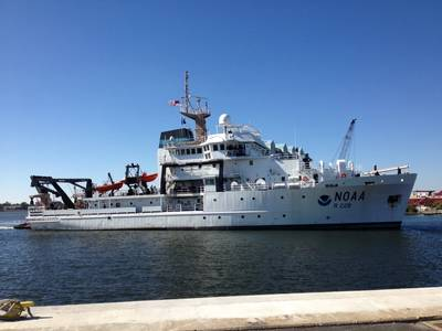 Fisheries Survey Vessel Reuben Lasker (Photo: NOAA)