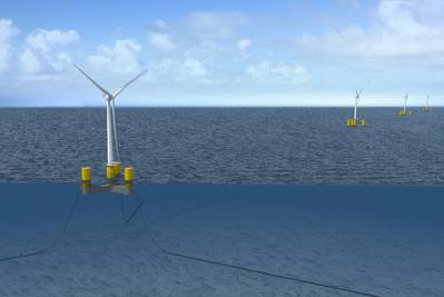 Floating Offshore Wind Turbines © DCNS Energies - GE