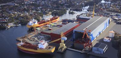 Florø Shipyard: Photo credit STX Europe