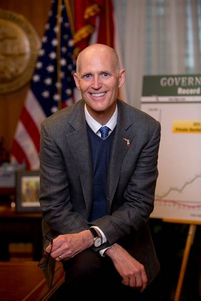 Florida Governor Rick Scott: Official photo