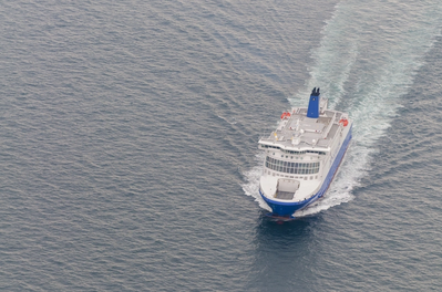 For illustration; A DFDS Ferry - Credit: Sebastian/AdobeStock